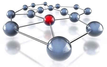 wlan: network concept Stock Photo