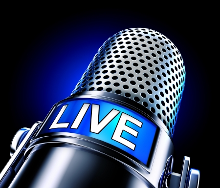 live on air: live