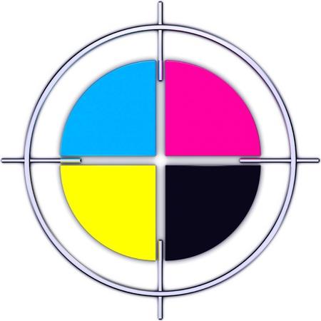 screen print: color circle