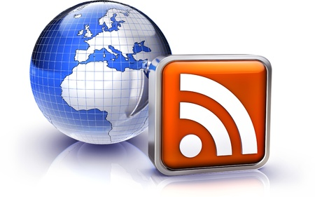 sensing: RSS Stock Photo