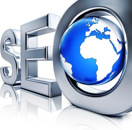 SEO icon Stock Photo - 21211300