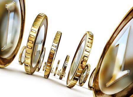 sweepstake: coins Stock Photo