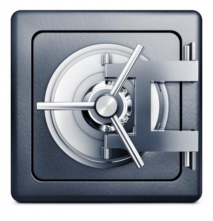 bank vault icon Stock Photo