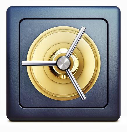 bank vault symbol Stock Photo