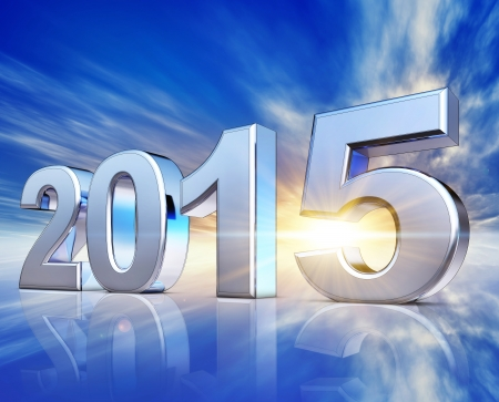 upturn: 2015 Stock Photo