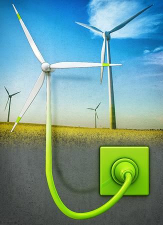 wind energy Stock Photo - 22846798