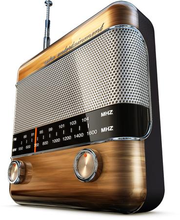 radio beams: radio Stock Photo