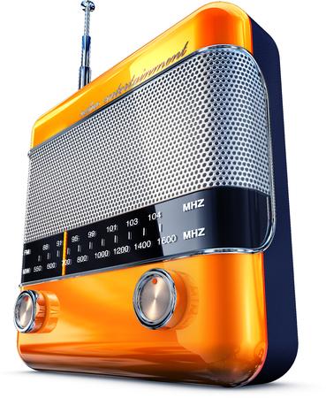 vintage radio Stock Photo - 23307904