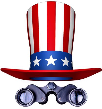 big brother spy: espionaje Foto de archivo
