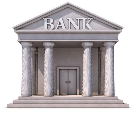 commercial real estate: bank building