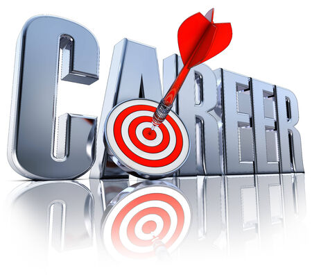 career icon: career icon Stock Photo