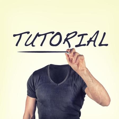 tutorial concept photo