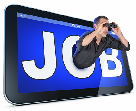 job searching photo