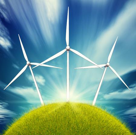 warmness: green planet