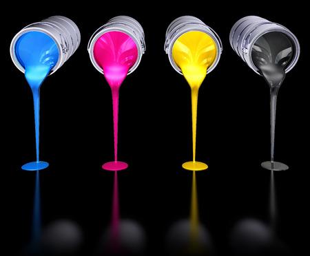 offset: cmyk colors