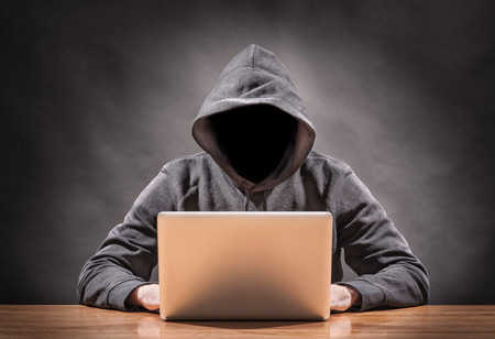 hacker on a computer