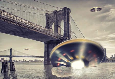 ufos over new york photo