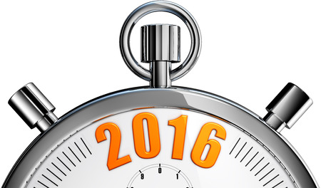 year increase: stop watch in 2016