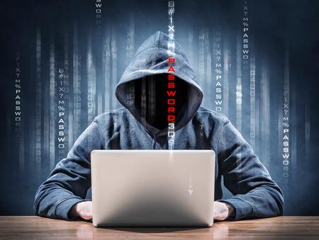 internet crime: password