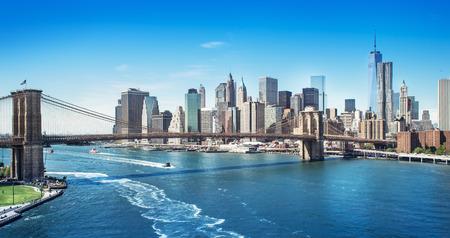 Manhattan nueva york Foto de archivo - 33671052