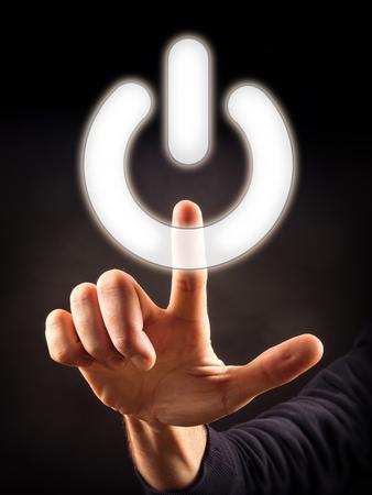 powerbutton: poder