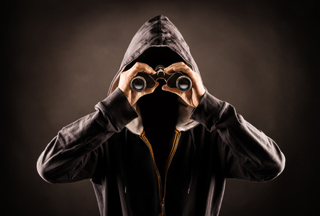 stalker Standard-Bild