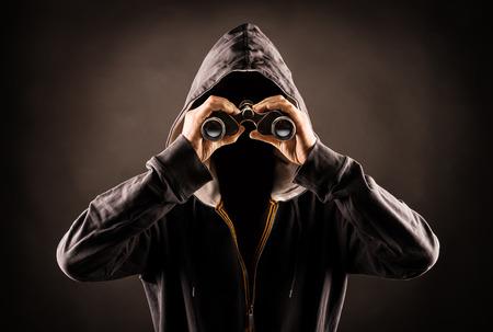 stalker Stockfoto