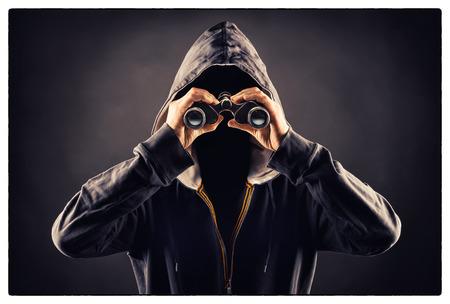 stalker Banque d'images