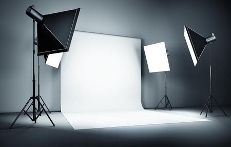 Studio-Hintergrund Standard-Bild - 37047484