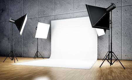 studio achtergrond Stockfoto