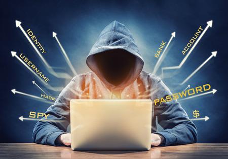 hacker 写真素材