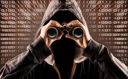 hacker Archivio Fotografico