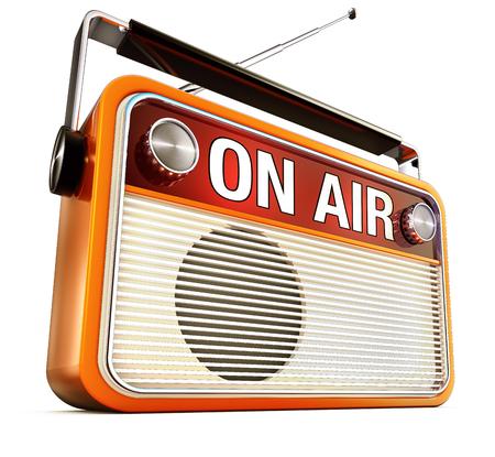radio beams: On Air Stock Photo