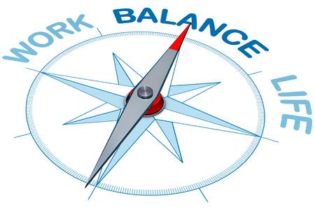 balanza: Equilibrio trabajo-vida