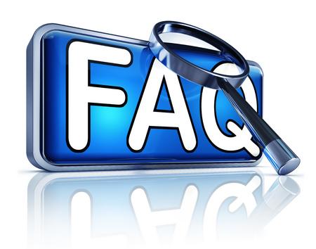 faq icon: FAQ icon