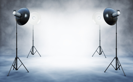photo studio: background Stock Photo