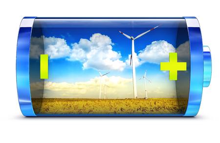 long lasting: Green Energy Stock Photo