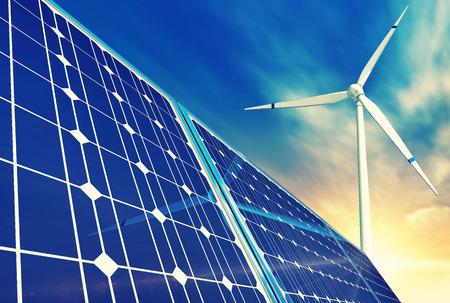 l'énergie verte Banque d'images