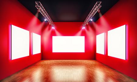display type: Exhibition