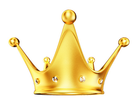 queen of diamonds: crown Stock Photo