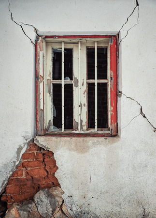 fissures: old window