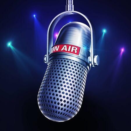 air: On Air Stock Photo