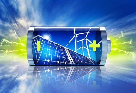 Grüne Energie Standard-Bild