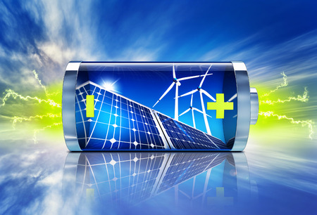 Green Energy  Banque d'images