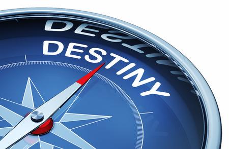 Destiny compass Stock Photo