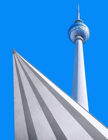 tv tower: TV tower berlin Editorial