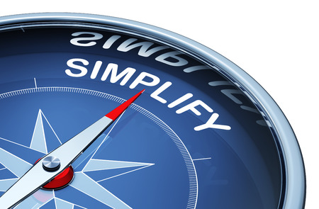 pragmatic: Simplify Stock Photo