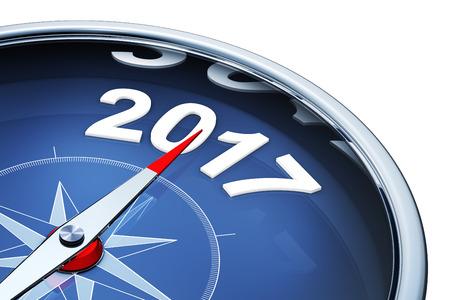 compass 2017 Banque d'images