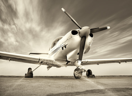 airscrew: sports plane