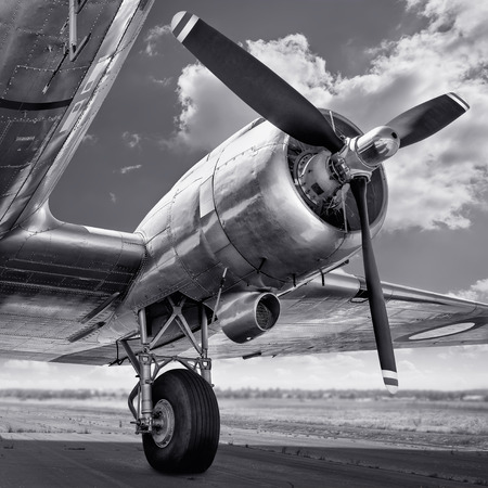 propeller of an aircraft 스톡 콘텐츠